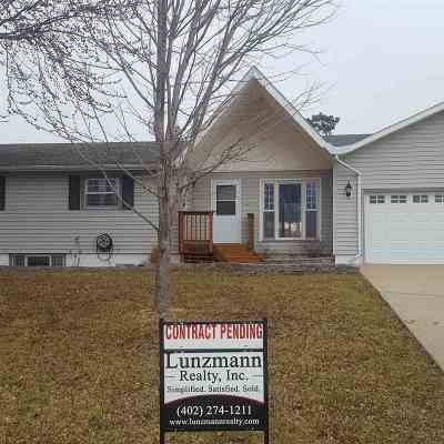 Auburn NE Single Family Home Pending/Contingency: $139,000