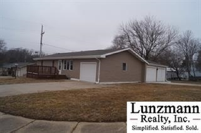 Auburn NE Single Family Home For Sale: $129,000