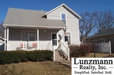 Tecumseh Single Family Home Pending/Contingency: 368 N 5th St.