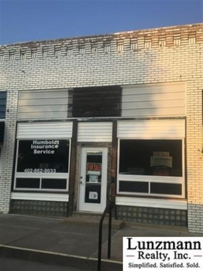 Nemaha County, Other County, Otoe County, Richardson County Commercial For Sale: 318 E Square
