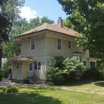 Tecumseh Single Family Home Pending/Contingency: 492 N 3rd Street