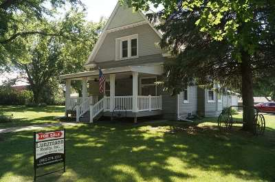 Filley Single Family Home Pending/Contingency: 301 Livingston Street