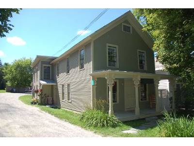 Addison County Multi Family Home For Sale: 199 Main Street