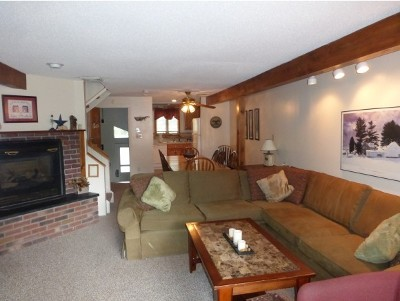Cambridge Condo/Townhouse For Sale: 28 Creekside 28 Smugglers Notch #28