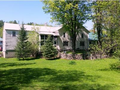Waterville Single Family Home For Sale: 790 Vermont Route 109