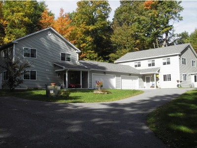 Shelburne VT Multi Family Home Closed: $648,000