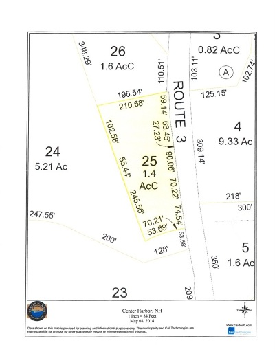 Center Harbor Residential Lots & Land For Sale: Route 3 D.w. Highway #Lot 025