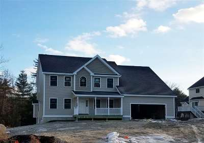 Nashua Single Family Home For Sale: 11 Ballerina Court #Lot 2871