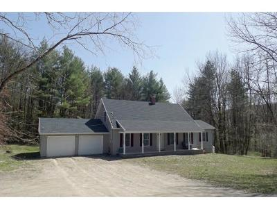 Clarendon Single Family Home For Sale: 186 Schoolhouse Hill Road