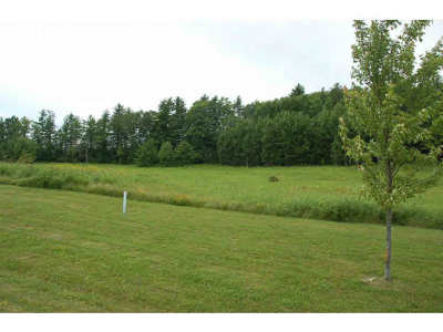 Middlebury Residential Lots & Land For Sale: 34 Meadow Glen Drive #12