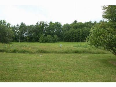 Middlebury Residential Lots & Land For Sale: 52 Meadow Glen Drive #13