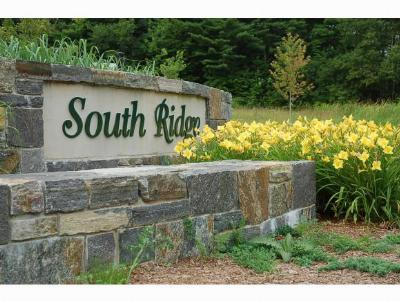 Middlebury Residential Lots & Land For Sale: South Ridge Drive #41