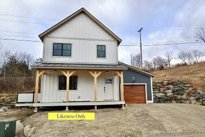 Waterbury Single Family Home For Sale: Lot 13 Carrie Lane/Waterbury Commons Lane