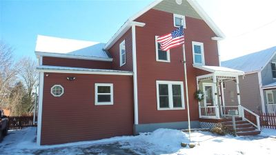 St. Albans City VT Single Family Home For Sale: $180,000