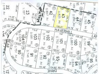 Haverhill Residential Lots & Land For Sale: Haverhill Lane