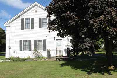 Castleton Single Family Home For Sale: 990 Route 4a