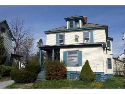 Rutland, Rutland City Multi Family Home For Sale: 42 Morse Place