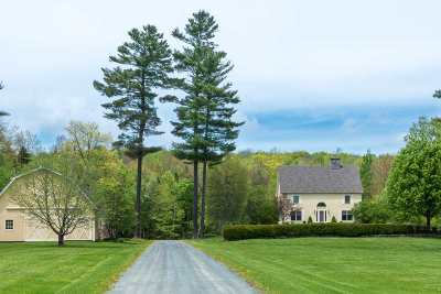 Littleton Single Family Home Active Under Contract: 895 Manns Hill Road