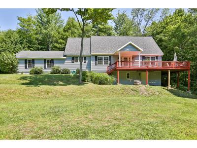 Hartland Single Family Home For Sale: 140 Cream Pot Road
