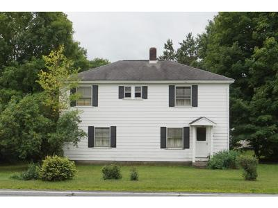 Hartland Single Family Home For Sale: 81 Route 12