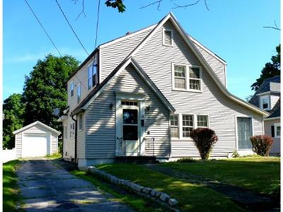Rutland City VT Single Family Home Active Under Contract: $99,000