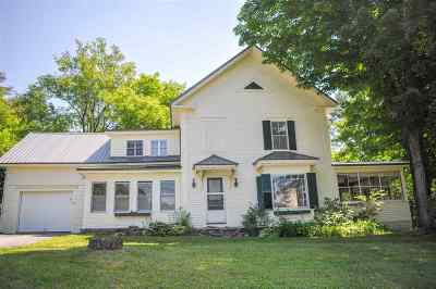 Whitefield Single Family Home For Sale: 94 Elm Street