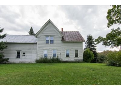 Washington Single Family Home For Sale: 141 Woodchuck Hollow Road