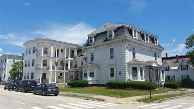 Manchester Multi Family Home For Sale: 120 Myrtle Street