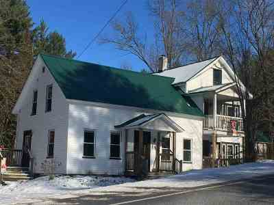 Johnson Multi Family Home Active Under Contract: 1043 Vt Route 100c