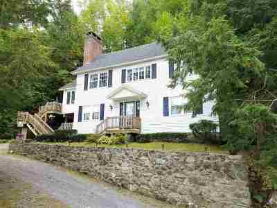 Addison County Single Family Home For Sale: 1646 Hooker Road