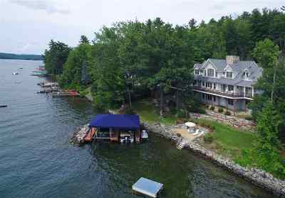 Gilford Single Family Home For Sale: 218 Edgewater Drive