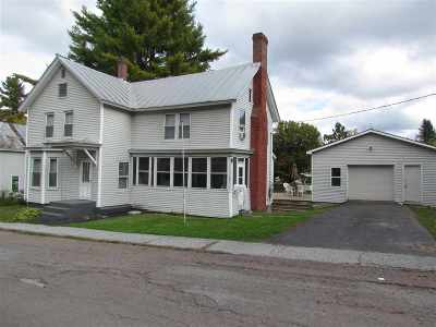 Berkshire, Montgomery, Richford Single Family Home For Sale: 37 Center Street