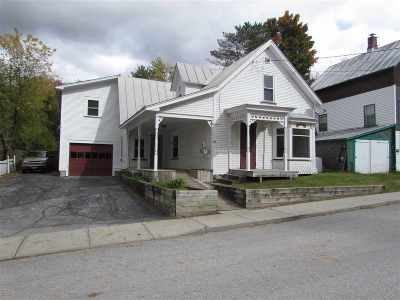Richford VT Single Family Home For Sale: $85,000