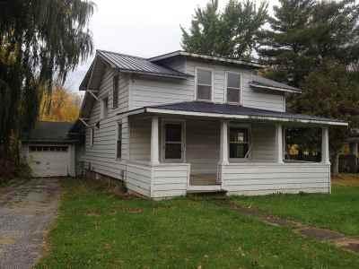 Alburgh Single Family Home For Sale: 7 Lake Street