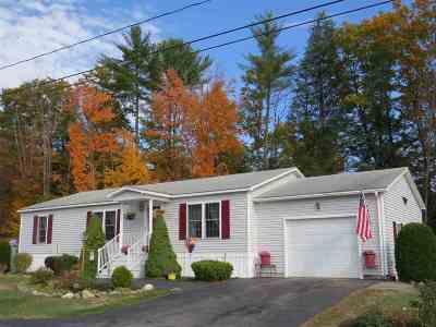 Tilton Single Family Home For Sale: 4 Timberline Drive