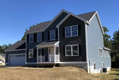 Nashua Single Family Home For Sale: 4 Cotillion Lane #Lot 2873