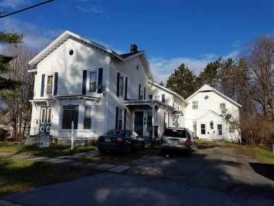 Poultney Multi Family Home For Sale: 288 Bentley Ave Avenue