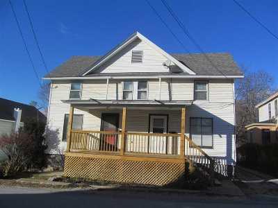 Rutland, Rutland City Multi Family Home For Sale: 89 Library Avenue
