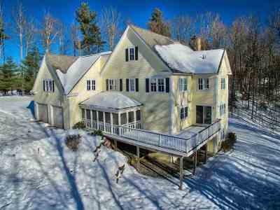 Waterbury Single Family Home Active Under Contract: 225 West Pinnacle Ridge Road