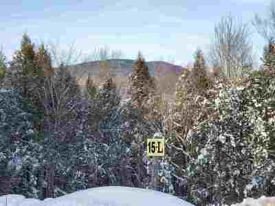 Sandwich Residential Lots & Land For Sale: 15 L Buzzell Ridge Road #12 Lot