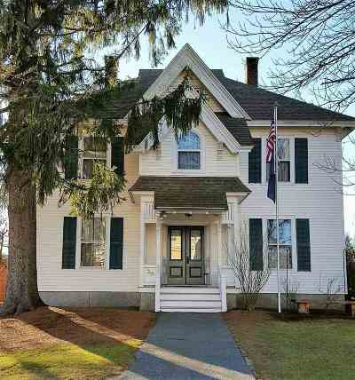 Hillsborough Single Family Home For Sale: 30 School Street