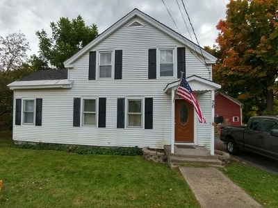 Poultney Single Family Home Active Under Contract: 76 Furnace Street