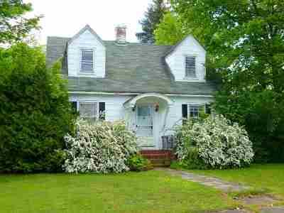 Rutland, Rutland City Single Family Home For Sale: 19 Porter St.