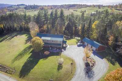 Caledonia County Single Family Home For Sale: 141 Sylvain Road