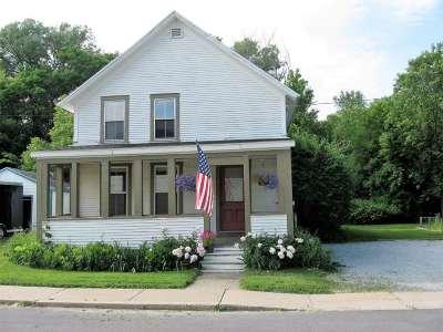 West Rutland Single Family Home For Sale: 103 Elm Street