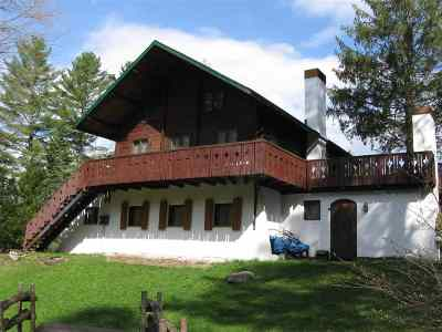 Berkshire, Montgomery, Richford Single Family Home For Sale: 1270 Mountain Road