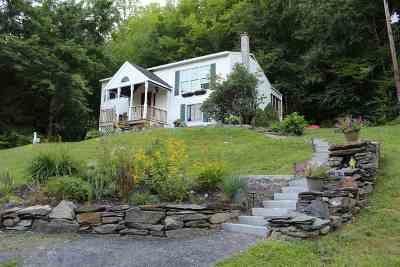 Starksboro Single Family Home For Sale: 5005 Big Hollow Road