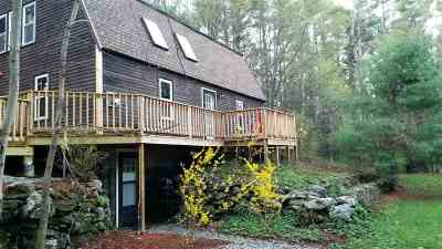 Strafford Single Family Home For Sale: 171 Barn Door Gap Road
