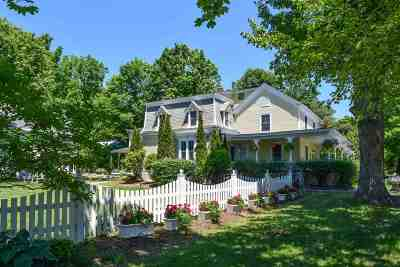 Middlebury Single Family Home For Sale: 29 Seminary Street