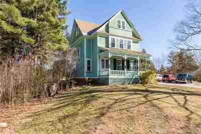 Stratham Single Family Home For Sale: 166 Portsmouth Avenue